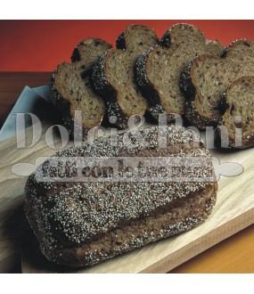 Preparato per Pane Nero Ricco di Fibre