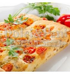 Preparato per Pizza Rustica in teglia e Focaccia con Semola e Germe di Grano
