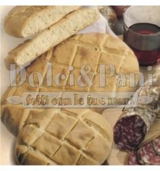 Preparato per Pane senza Lievito di birra con Farina Macinata a Pietra