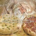 Preparato per Scrocchiarella e Focaccia con Farina d'Orzo, Avena e Fiocchi di Patate