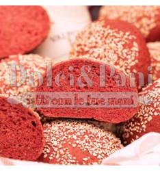 Preparato per Pane Rosso con Riso Rosso Integrale e Rapa Rossa