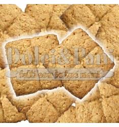 """Preparato per Biscotti ai Cereali con Farina di Frumento Macinata a Pietra Tipo """"1"""" e Fiocchi d'Avena"""