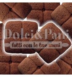 """Preparato per Biscotti al Cacao con Farina di Frumento Macinata a Pietra Tipo """"1"""" e Cacao"""