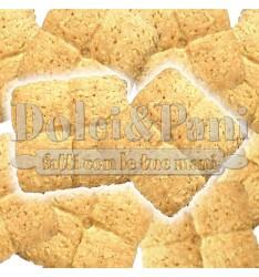 """Preparato per Biscotti al Cocco con Farina di Frumento Macinata a Pietra Tipo """"1"""" e Cocco Rapé"""