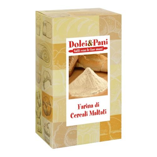 farina cereali maltati per ricetta pane ai cereali