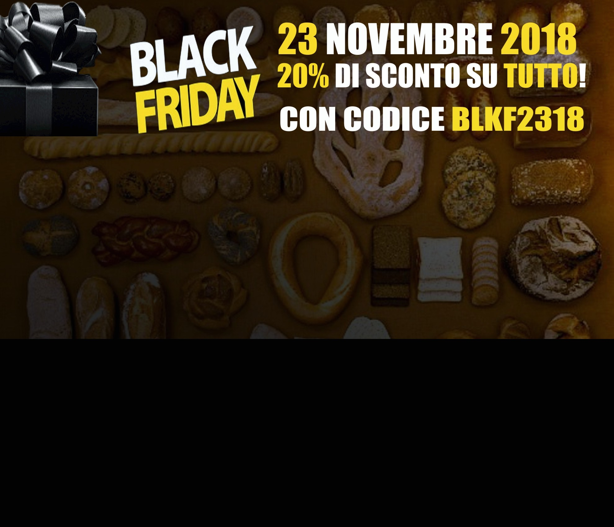 Black Friday 23 novembre 2018