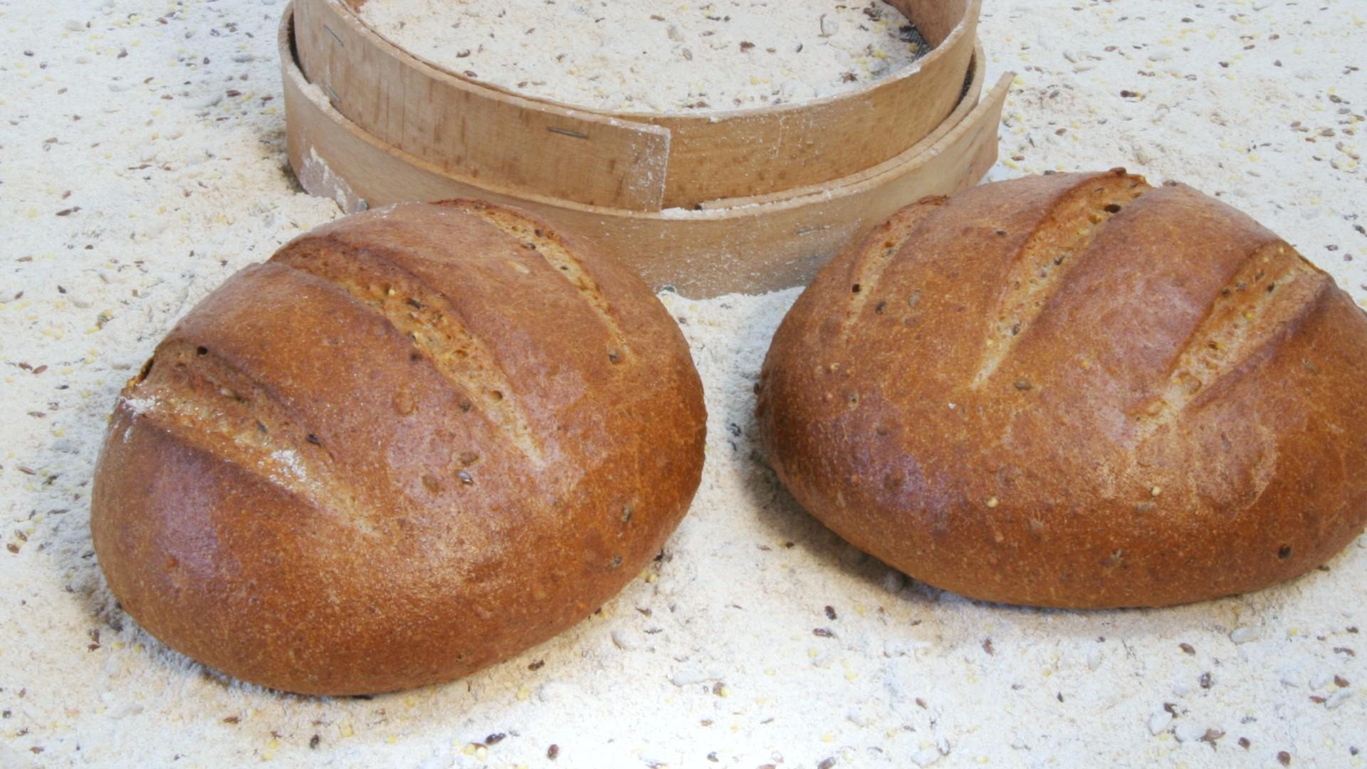Un gran pane al Farro